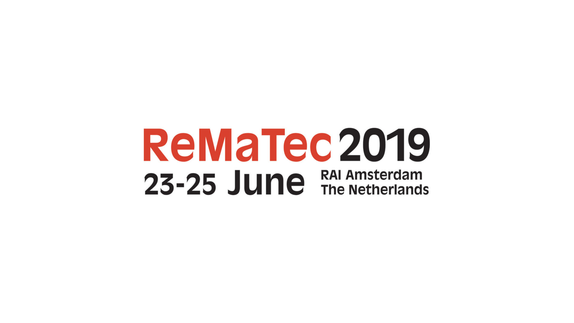 ReMaTec Holandia – 23 do 25.06.2019 r.