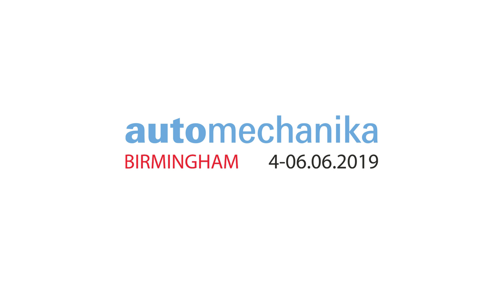 Automechanika Birmingham –  04 do 06.06.2019 r.
