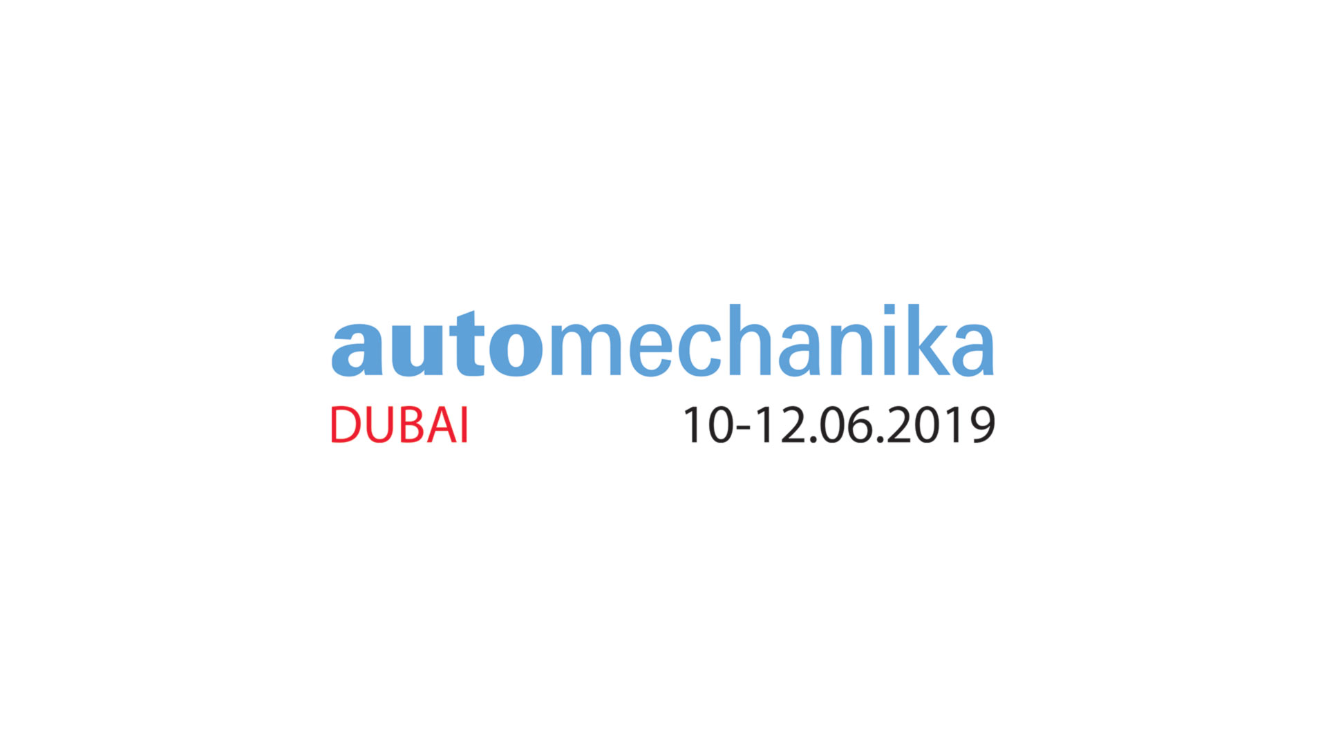 Automechanika Dubaj – 10 do 12.06.2019 r.