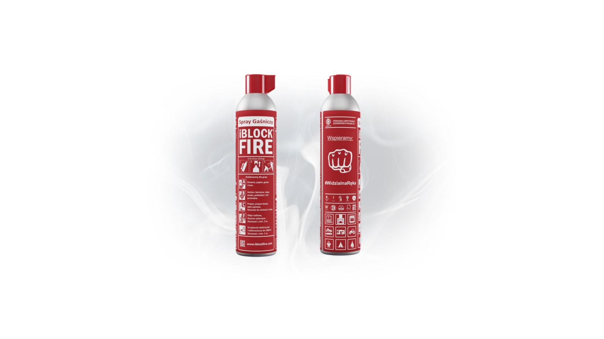 iBlockFIRE wspiera Widzialną Rękę – 16.02.2021R.